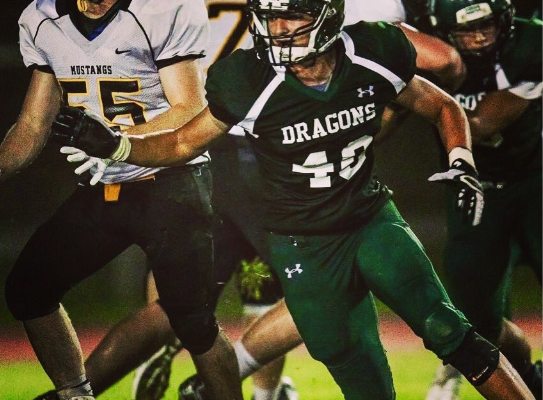 HAYDEN WILLIAMSON, 2019; 6-1, 215 LB; 3.5 GPA; KUBASAKI HS, OKINAWA, JAPAN